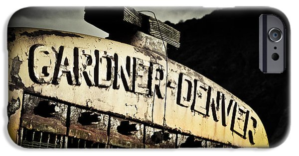 Industrial Photographs iPhone Cases - Gardner Denver iPhone Case by Merrick Imagery