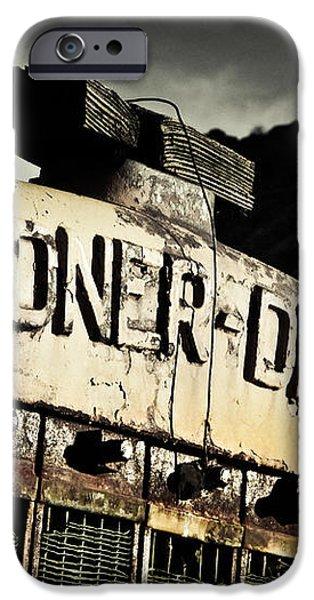 Gardner Denver iPhone Case by Merrick Imagery