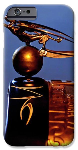 Gargoyle Hood Ornament 3 iPhone Case by Jill Reger