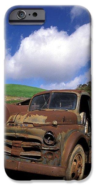 Garrod's Old Truck iPhone Case by Kathy Yates