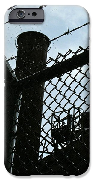 Mounds iPhone Cases - Gas Works 10 iPhone Case by Katy Granger