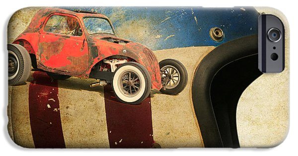 Racing iPhone Cases - Gasser iPhone Case by Steve McKinzie