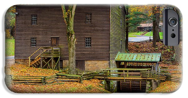 Village iPhone Cases - Gastons Mill 2 iPhone Case by John Bailey