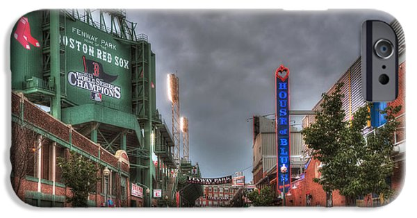 Boston Red Sox iPhone Cases - Gate E - Fenway Park Boston iPhone Case by Joann Vitali