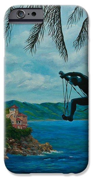 Gateway to Portofino iPhone Case by Charlotte Blanchard