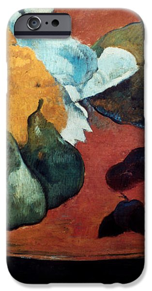 GAUGUIN: FETE GLOANEC, 1888 iPhone Case by Granger