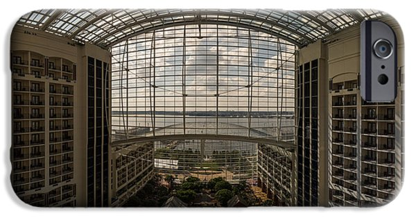 D.c. iPhone Cases - Gaylord National Resort and Convention Center iPhone Case by Chris Bordeleau
