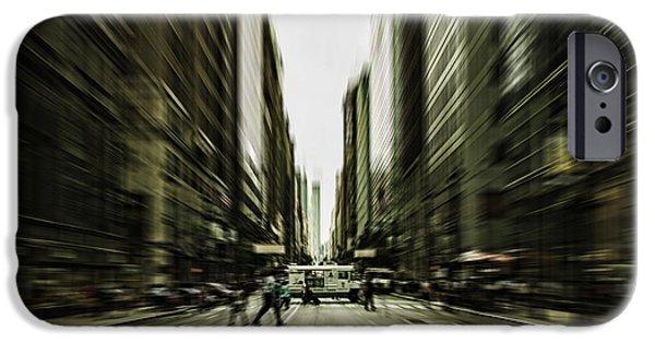 Business Digital Art iPhone Cases - Gelati Rush iPhone Case by Andrew Paranavitana
