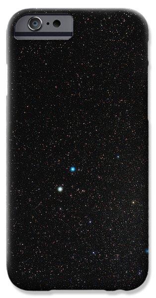 Gemini Constellation iPhone Case by Eckhard Slawik