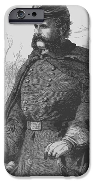 General Ambrose Burnside iPhone Case by War Is Hell Store