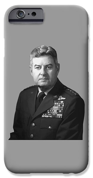 U.s Heroes iPhone Cases - General Curtis Lemay iPhone Case by War Is Hell Store