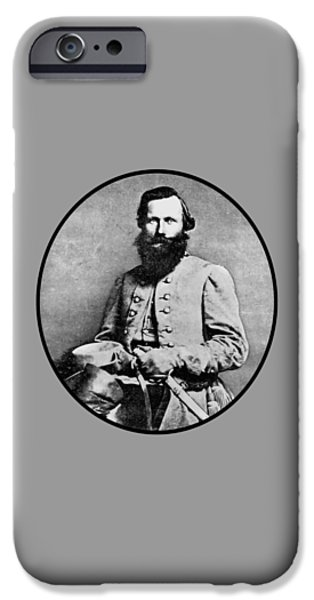 Patriots iPhone Cases - General JEB Stuart iPhone Case by War Is Hell Store