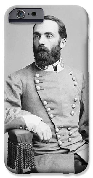 Civil War Digital iPhone Cases - General Joseph Wheeler iPhone Case by War Is Hell Store