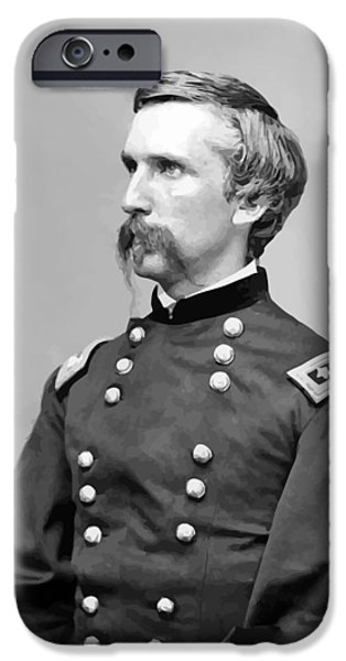 Honor iPhone Cases - General Joshua Lawrence Chamberlain iPhone Case by War Is Hell Store