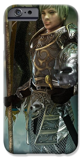Torn iPhone Cases - General iPhone Case by Karen H