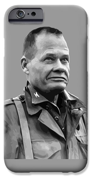 Marine iPhone Cases - General Lewis Chesty Puller iPhone Case by War Is Hell Store