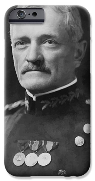 United iPhone Cases - General Pershing iPhone Case by War Is Hell Store