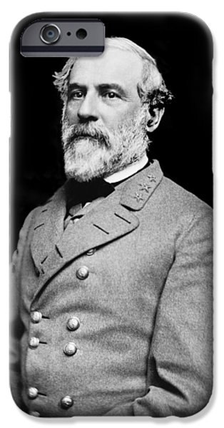 General Robert E Lee - CSA iPhone Case by Paul W Faust -  Impressions of Light