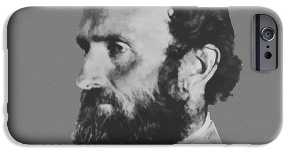 Patriots iPhone Cases - General Stonewall Jackson iPhone Case by War Is Hell Store