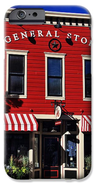 July iPhone Cases - General Store iPhone Case by Richard Cheski