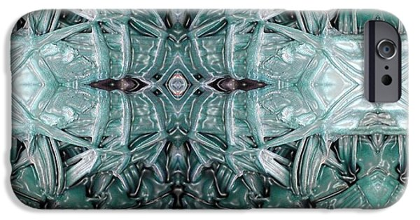 Abstract Digital Digital iPhone Cases - Generation iPhone Case by Ron Bissett