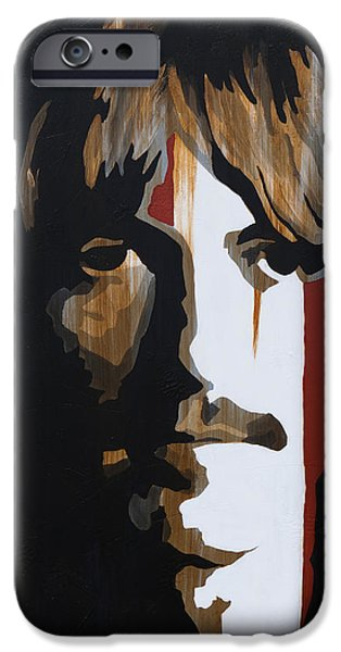 Beatles iPhone Cases - Gently Weeps iPhone Case by Brad Jensen
