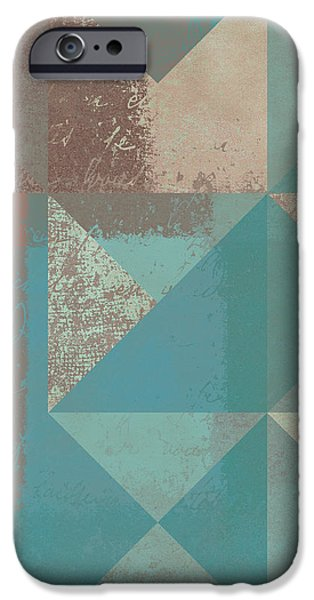Geomix 03 - s123bc04t2a iPhone Case by Variance Collections