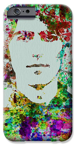 Beatle iPhone Cases - George Harrison iPhone Case by Naxart Studio