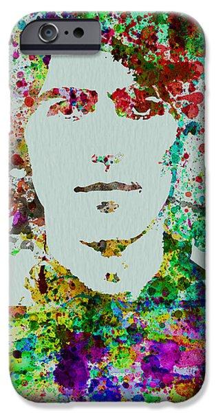 George Harrison iPhone Case by Naxart Studio