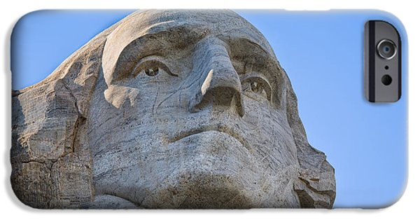 President iPhone Cases - George Washington 2 iPhone Case by John Bailey