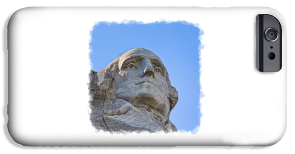 President iPhone Cases - George Washington 3 iPhone Case by John Bailey