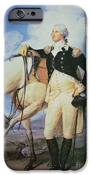 George Washington iPhone Cases - George Washington iPhone Case by John Trumbull