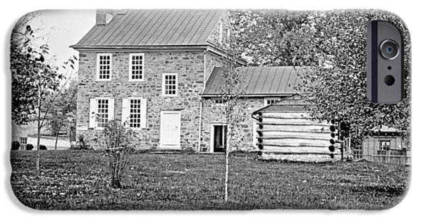 The White House Photographs iPhone Cases - George Washingtons Headquarters c 1900 iPhone Case by A Gurmankin