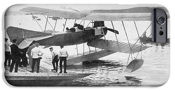 North Sea iPhone Cases - German Seaplane Used In The North Sea iPhone Case by Ken Welsh