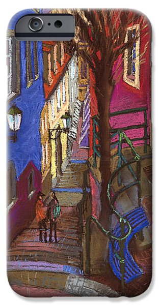 Old Pastels iPhone Cases - Germany Baden-Baden 08 iPhone Case by Yuriy  Shevchuk