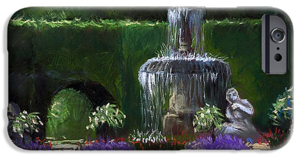 Pastel iPhone Cases - Germany Baden-Baden 15 iPhone Case by Yuriy  Shevchuk