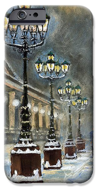 Old Pastels iPhone Cases - Germany Baden-Baden Kurhaus iPhone Case by Yuriy  Shevchuk