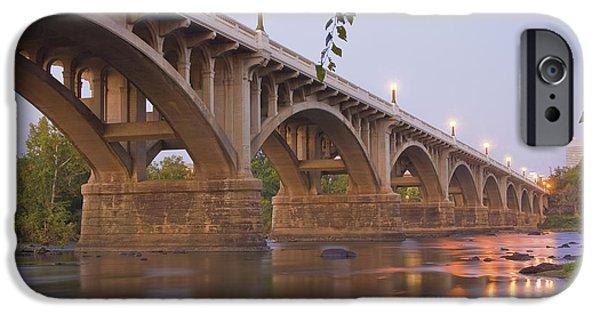 River iPhone Cases - Gervais Bridge iPhone Case by Steven Richardson