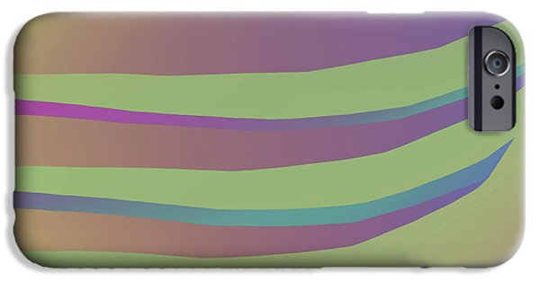 Abstract Digital Tapestries - Textiles iPhone Cases - Get a Grip iPhone Case by Suzi Freeman