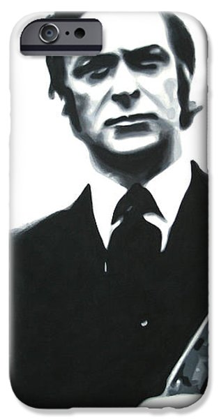 Michael Paintings iPhone Cases - Get Carter 2013 iPhone Case by Luis Ludzska