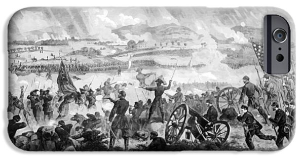 Little iPhone Cases - Gettysburg Battle Scene iPhone Case by War Is Hell Store
