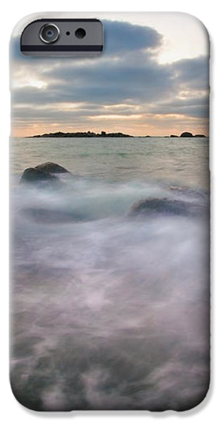 Ghost Tides iPhone Case by Mike  Dawson