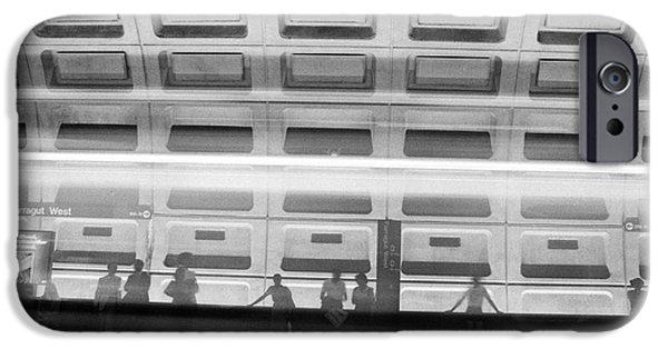 D.c. iPhone Cases - ghost train in D C iPhone Case by Steven Macanka