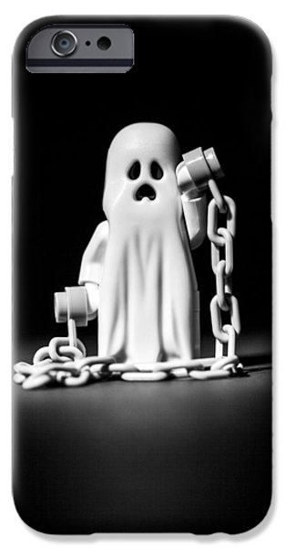 Haunting iPhone Cases - Ghostly iPhone Case by Samuel Whitton