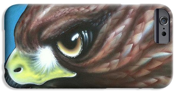 Airbrush iPhone Cases - Gias Messenger iPhone Case by Alysa Sheats