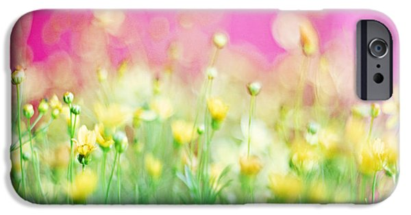 Print Photographs iPhone Cases - Giddy in Pink iPhone Case by Amy Tyler