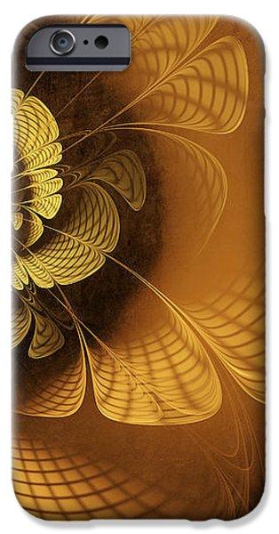 Gilded Flower iPhone Case by John Edwards