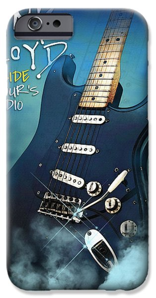 Michael iPhone Cases - Gilmour Inside iPhone Case by Don Kuing