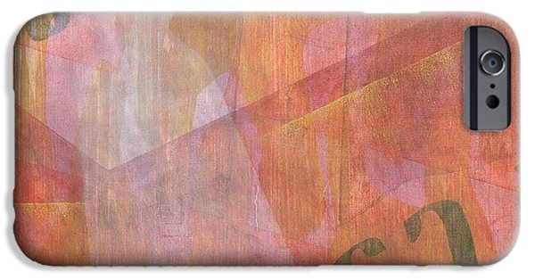 Abstractions iPhone Cases - Giorgis iPhone Case by Charlie Millar