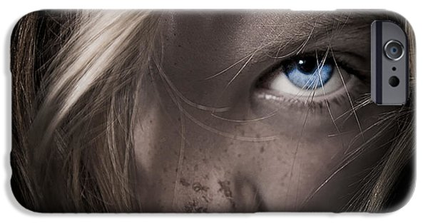Girl Photographs iPhone Cases - Girl iPhone Case by Paul Neville